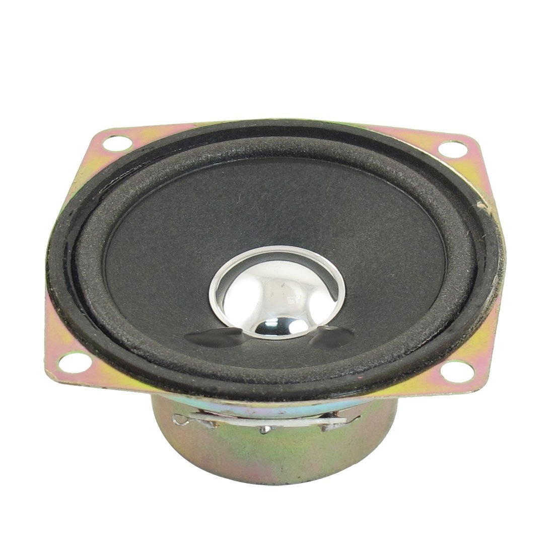 5W 5 Watt 8 Ohm Alluminio Rotondo Altoparlante Interno Magnete 38mmx64mm sourcing map a13010800ux0411