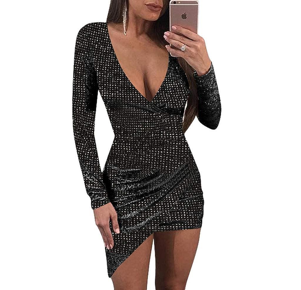 Top 10 wholesale Long Sleeve Deep V Bodycon Dress - Chinabrands.com e19904bf1