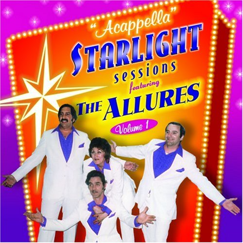 CD : The Allures - Acappella Starlight Sessions, Vol. 1 (CD)