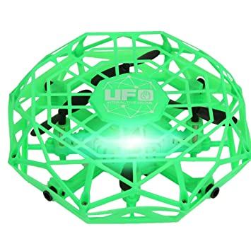 Zinniaya TL123 UFO Mini Drone Helicopter RC Quadcopter Sensing and ...