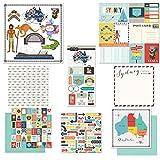 Scrapbook Customs Themed Paper & Stickers Scrapbook Kit, Sydney City Memories