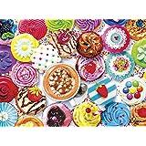 Buffalo Games 11710-Vivid Collection-Aimee Stewart-Cupcakes & Cocoa-1000 Piece Jigsaw Puzzle