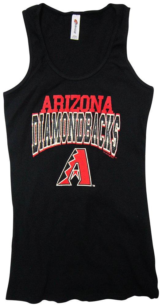 Arizona Diamondbacks Arched Ribbed Tank Top T Shirt 1400