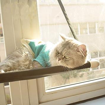 TRELLA - Hamaca para Gatos, Caliente, para Tomar el Sol, Colgante, para