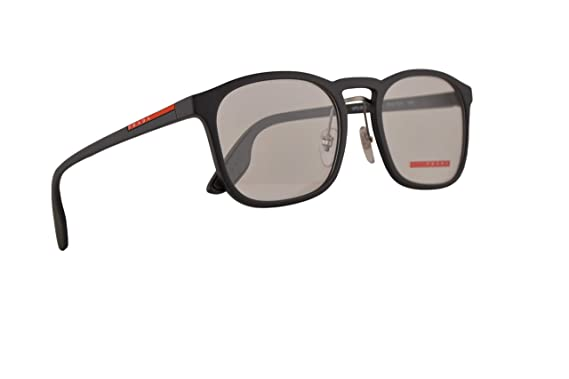 717ef2d87a1 Prada PS06HV Eyeglasses 54-20-145 Grey Gradient Rubber w Demo Clear Lens  TFZ1O1 VPS 06H PS 06HV VPS06H  Amazon.co.uk  Clothing