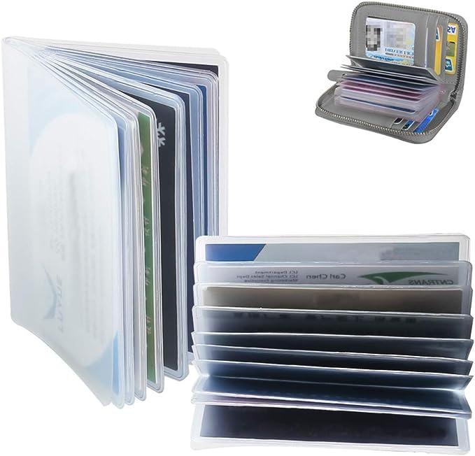 Amazon.com: Fogawa - Funda de plástico para tarjetas de ...