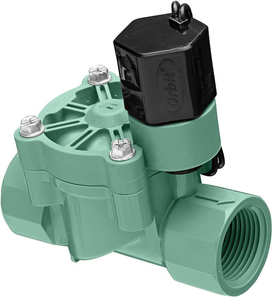 2 Pack Orbit 1 Inch Female Threaded Automatic Inline Irrigation Sprinkler Valve Orbit Underground