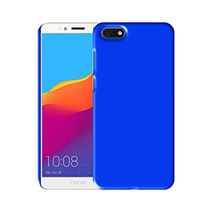 sports shoes dffb0 7fee6 Case Creation Huawei Y5 Prime (2018) Back Cover,Hard Back case 360  Protection for Huawei Y5 Prime /Y5 Prime (5.45-inch)- Dark Royal Blue