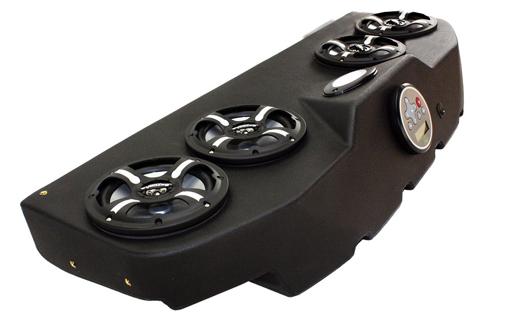 Froghead Industries CCP304LB Four Speaker Bluetooth AM/FM Stereo System With LED Light Bar And RGB LED Speakers by Froghead Industries (Image #2)