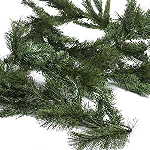 Factory Direct Craft Bendable Artificial Pine Needle Garland for Christmas Embellishing and Home Decor
