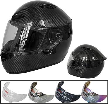 Leopard LEO-958 Motorbike Motorcycle Helmet Visor Mirrored