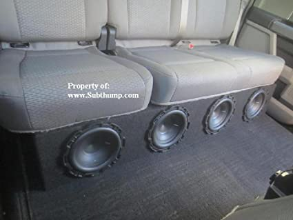 2002 ford f150 crew cab subwoofer box