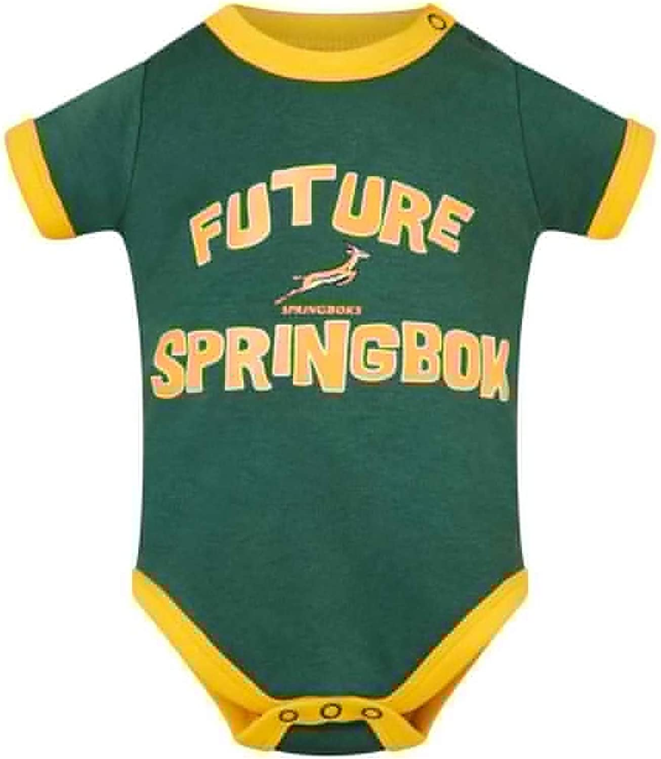 2019//20 Season South Africa Rugby Springboks Baby Bodysuit