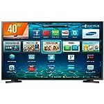 "Smart Tv Samsung 40"" Led - Full Hd - 2X Hdmi - Usb - Wi-Fi - Lh40Benelga/Zd, Smasung, Lh40Benelga/Zd"
