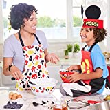 Disney Mickey Mouse Apron and Hat Set for Kids