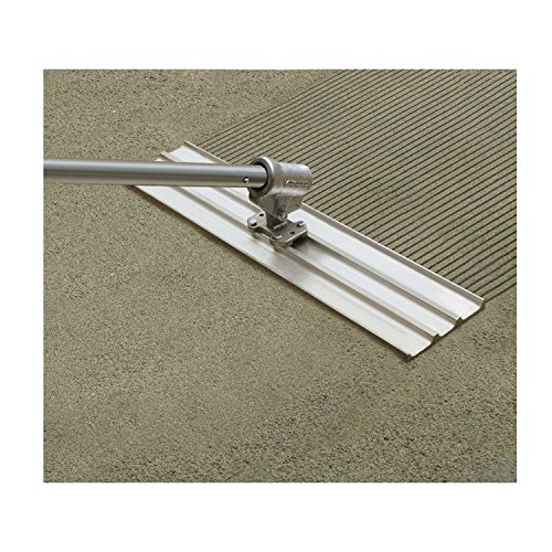 Kraft Tool Co. CC794-01 Multi-Trac Bull Float Groover, 36-inch x 8-inch