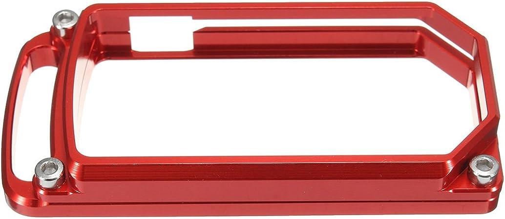 Alamor Cnc Schlüsselanhänger Hülle Für Ducati Diavel 1200 2011 2012 2013 2014 2015 2016 Rot Küche Haushalt