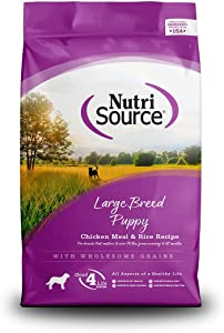 Nutrisource Large Breed Puppy Dog Food 5Lb