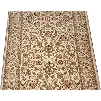 dean washable carpet rug runner garden path gold and brown purchase by the linear. Black Bedroom Furniture Sets. Home Design Ideas
