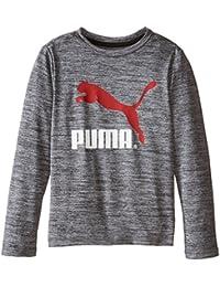 PUMA | Boys' No 1 Long Sleeve Logo T-Shirt