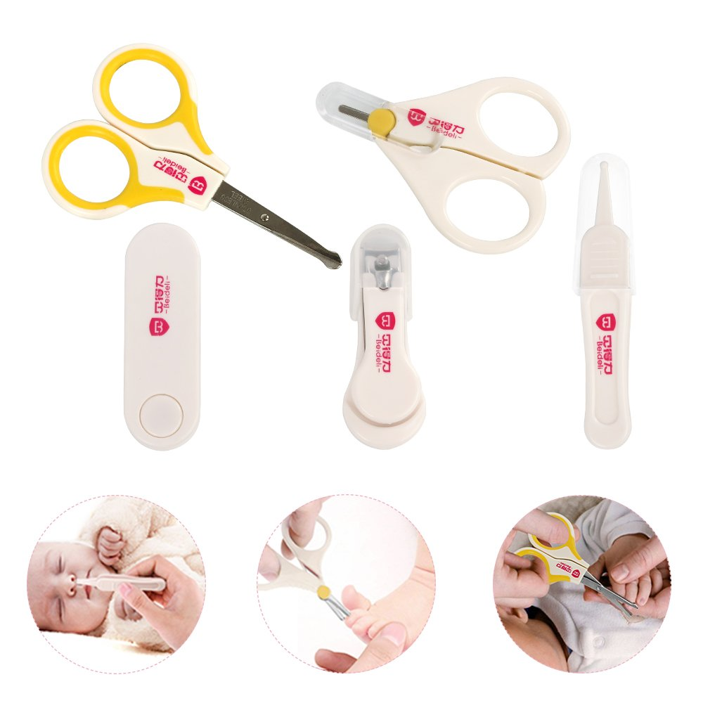 Amazon.com: Wlive Baby Electric Nail File Grooming Kit Safe for ...