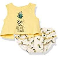 Jessica Simpson Baby-Girls 2 Piece Top and Bloomer Set Short Sleeve Casual Dress