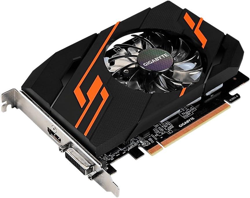 Gigabyte GV-N1030OC-2GI GeForce GT 1030 2GB GDDR5 graphics card - graphics cards (NVIDIA, GeForce GT 1030, 4096 x 2160 pixels, 1265 MHz, 1518 MHz, 4096 x 2160 pixels)