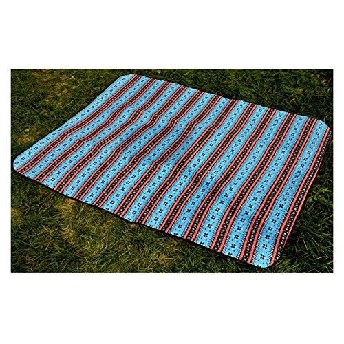 Größe Outdoor Picknickdecke Zurück Wasserdichte Aluminiumfolie Strandteppich Leichte Faltbare Isomatte Feuchtigkeits Baby Climb Decke,200  200