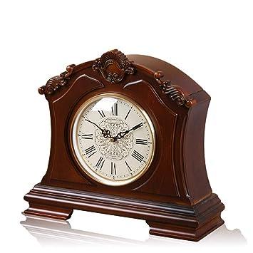*reloj de mesa Mesa de mesa Sala de estar Decoración Dormitorio Relojes de escritorio antiguos