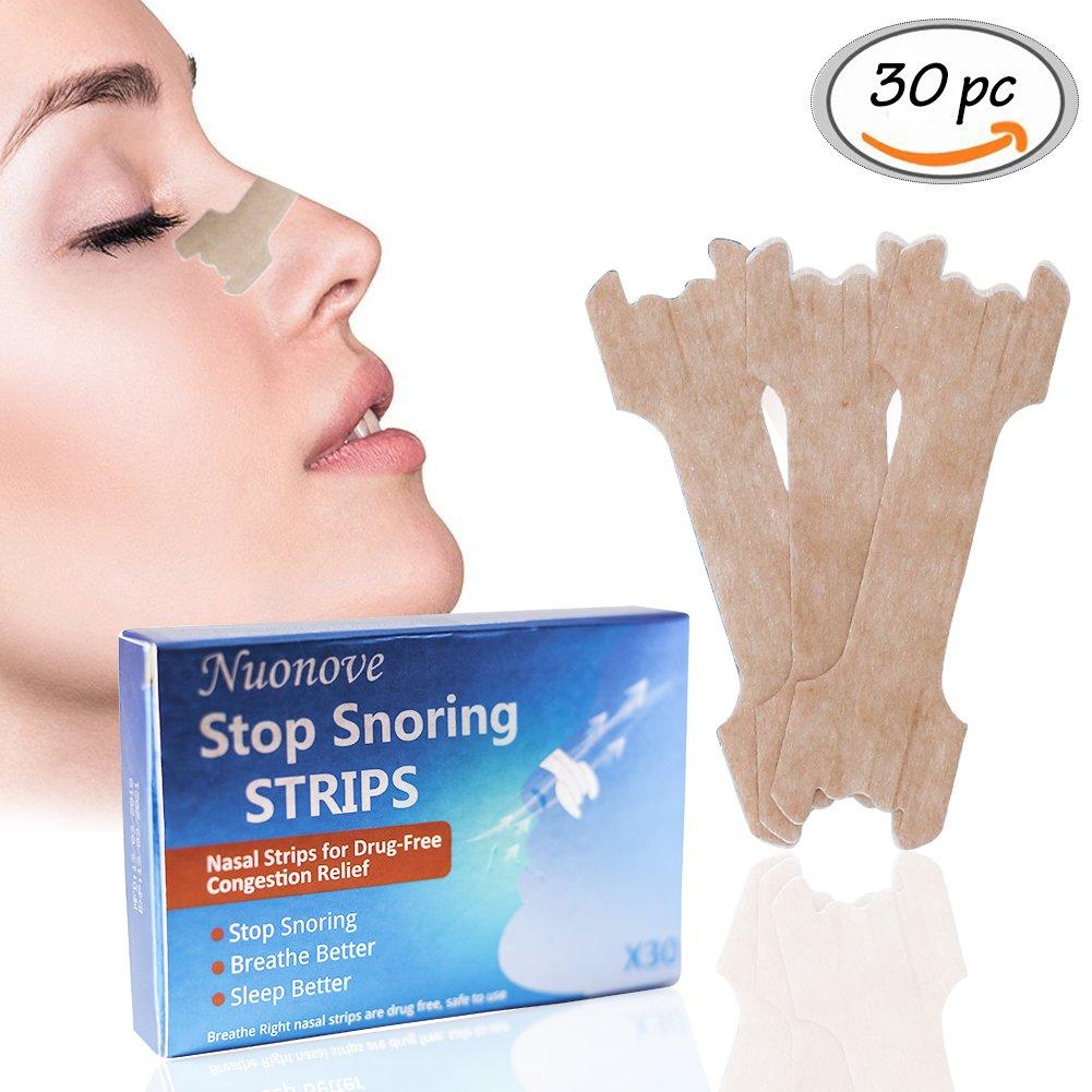 Schnarchen verhindern mit Nasenstrips