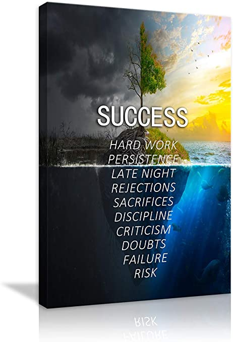com amemny success nature landscape motivational canvas