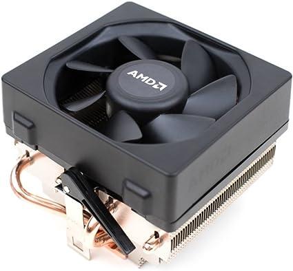 AMD Wraith Socket FM2/FM1/AM3/AM2 conector de 4 pines CPU enfriador con núcleo de cobre base/disipadores de calor y disipador de calor de aluminio con tronstore pasta térmica para ordenadores de sobremesa (TS78):