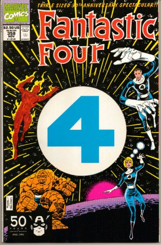Fantastic Four #358 - 30th Anniversary : Whatever Happened to Alicia? (Marvel Comic Book 1991)