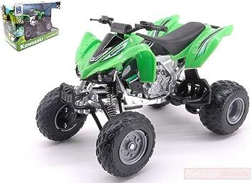 New Ray Model Compatible con ATV-Quad Kawasaki KFX 450 R 1:12 ...