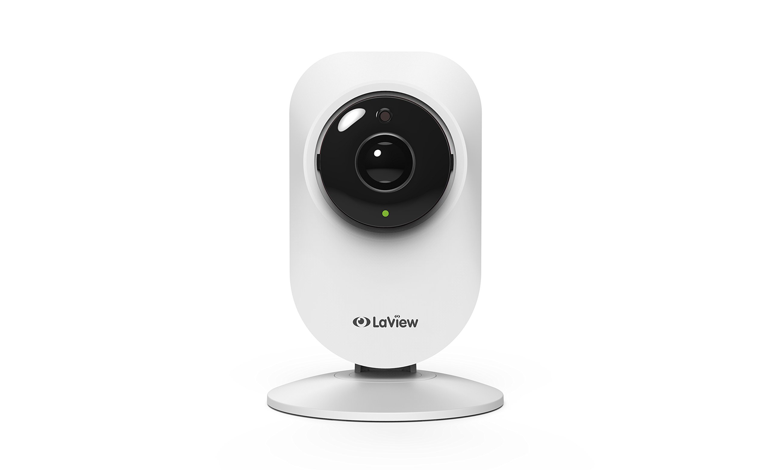 LaView 1080P HD IP Wi-Fi Wireless Security Surveillance Camera, 185° Fish-Eye Lens, Indoor, Portable, Built -in Microphone