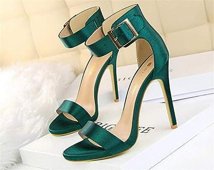 La Corte Hebilla Moontang Sandalias Zapatos De Tacones D2WH9YEI