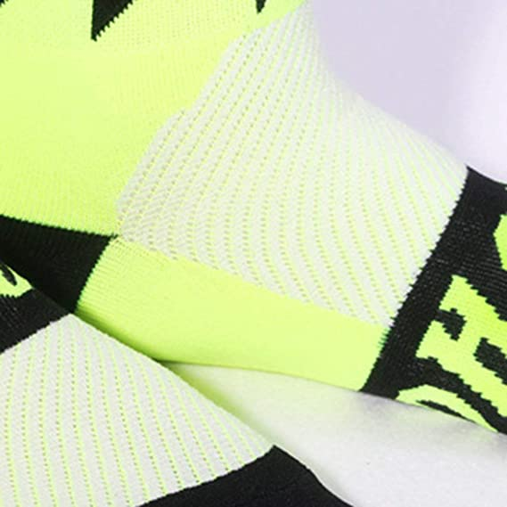 Heaviesk Ciclismo Calcetines Deportes Bicicleta Correr Spin Clase ...