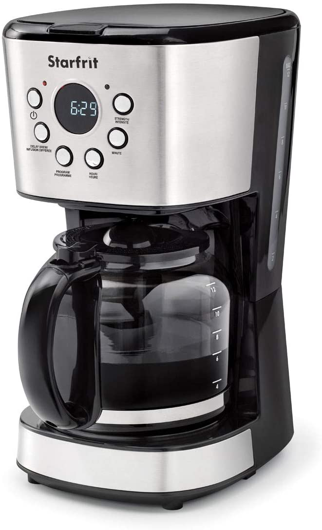 Starfrit 024001-002-0000 12-Cup Electric Drip Coffee Maker