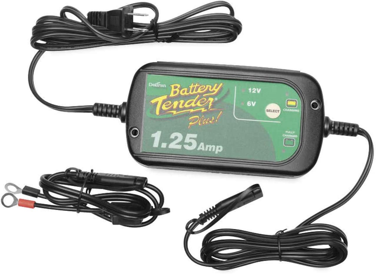 BATTERY TENDER Battery Charger High Efficiency Plus 12V 1.25A