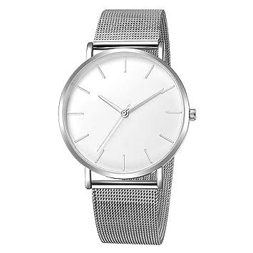 Relojes Hombre Inteligentes 💝💞 Yesmile Hombres de Acero Inoxidable de Moda Relojes Ejército Militar Deporte Relojes Cuarzo analógico Fecha Reloj de ...