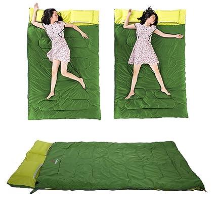Saco de Dormir Doble, Saco de Dormir PortáTil Creativo de La Forma del Sobre de