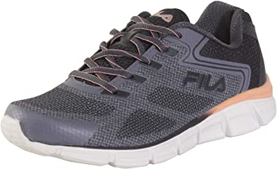 Fila Memory-Exolize - Zapatillas de Running para Mujer (Espuma viscoelástica), Color Gris y Azul: Amazon.es: Zapatos y complementos