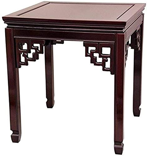 Oriental Furniture Rosewood Square Ming Table – Rosewood