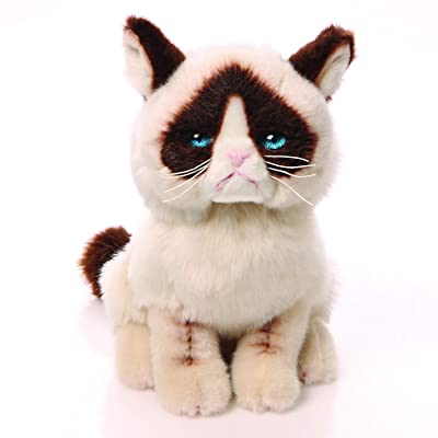 "GUND Grumpy Cat Stuffed Animal Plush, 9"": Toy: Toys & Games"