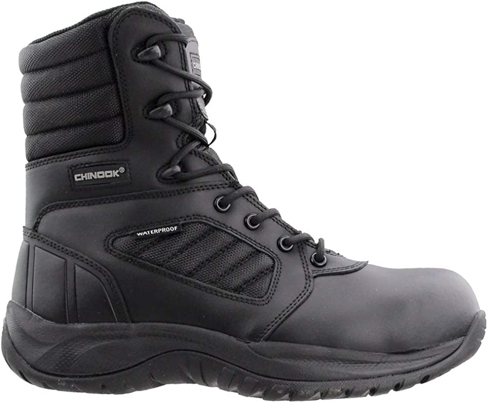 Black Chinook Spider Mens  Work Safety Shoes Casual