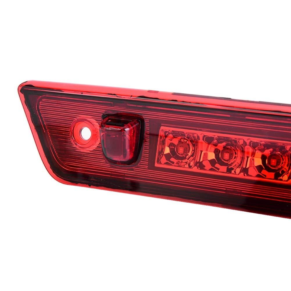 1 PC de la troisi/ème partie arri/ère Troisi/ème feu de freinage /à DEL pour Jeep Grand Cherokee 2005-2010 Troisi/ème feu de freinage Chrome /& Rouge