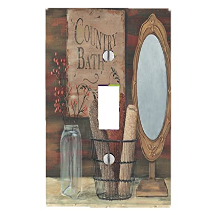 Delicieux Got You Covered Country Bath Primitive Light Switch Cover For Bathroom