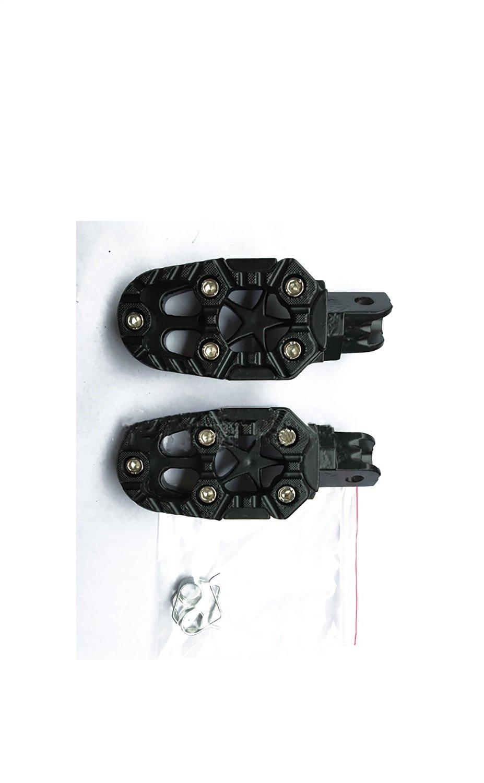Color : Yellow CBFYKU ATV Black Foot Pegs Footrests Pit Dirt Motor Bike Motorcycle Foot Pegs Nonslip Footrest Rear Foot Peg Pedal For Motorcycle Foot Pegs For Bicycle