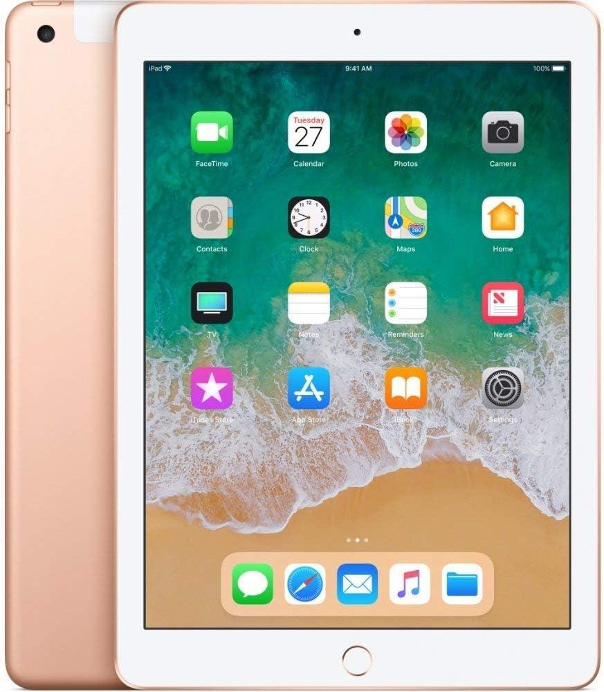 Amazon Com Apple Ipad With Wifi 128gb Gold 2018 Model Renewed Computers Accessories