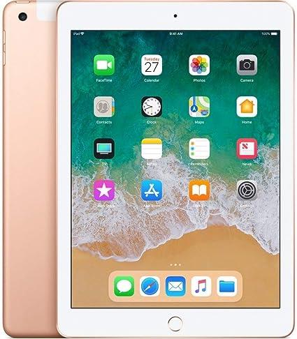 6ebecdc7002 Amazon.com : Apple iPad with WiFi, 128GB, Gold (2018 Model) (Renewed) :  Computers & Accessories